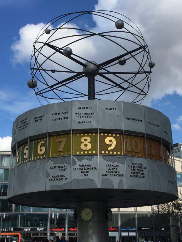 Berlin Top Ten sights: Alexanderplatz World Clock