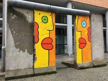 Piece of Berlin Wall, Potzdamer Platz