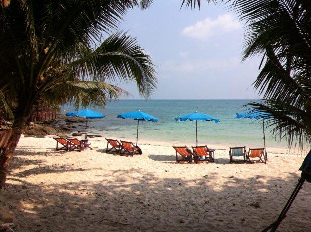 Ao Nuan, one of the best beaches of Ko Samet,