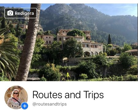 Routes and Trips on Facebook