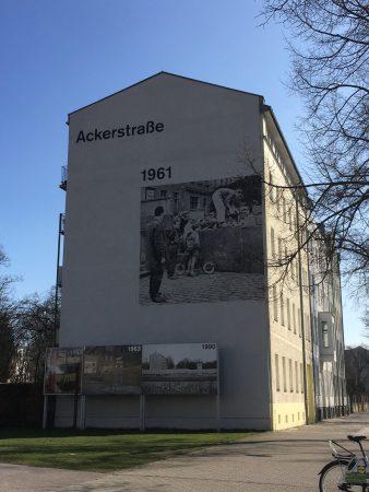 Berlin's Top Ten sights: Ackerstrasse 1961