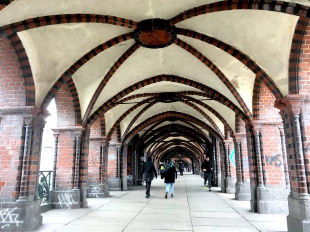 Berlin sights: Oberbaumbrucke