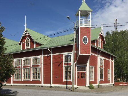 Kaskö building style, Ostrobothnia road trip, Finland