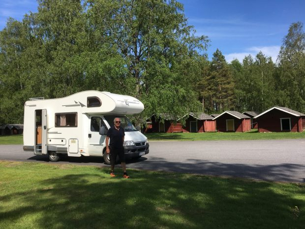 Motorhome travel: free to stop where you want