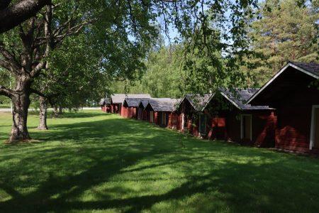 Old church stables of Närpiö, Finland