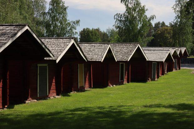 Ostrobothnia road trip in a motorhome: Närpes church stables