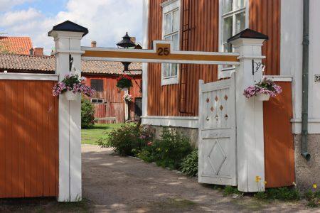 Typical house gate of Neristan, Kokkkola