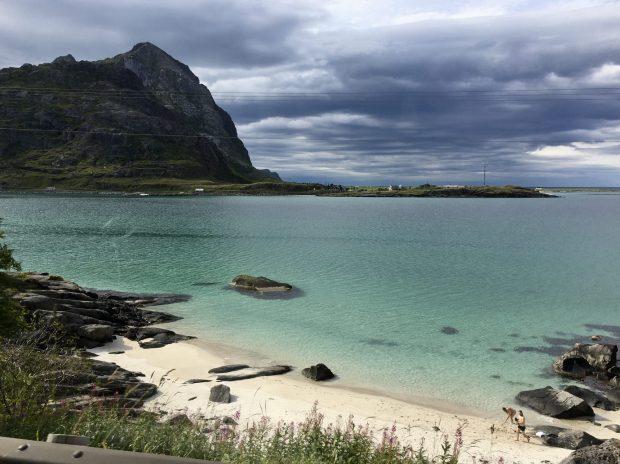 On the shores of Flakstad, Lofoten