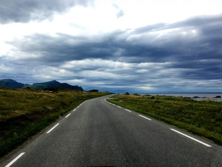 The Norwegian Scenic Route in Lofoten