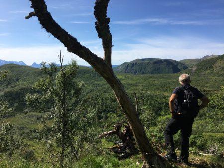 Hiking in Vesterålen, Norway