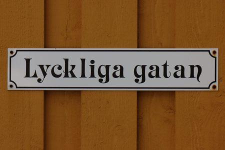 Lyckliga gatan, Reine, Lofoten