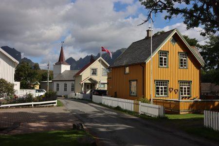 Reine main street, Lofoten
