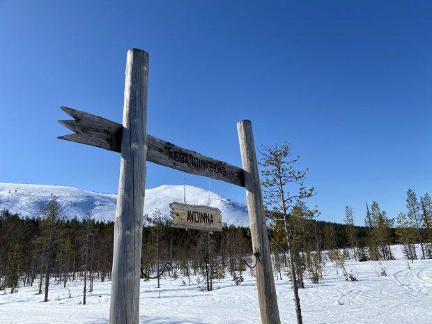 Arctic Lapland spring: Kesängin Keidas, Äkäslompolo