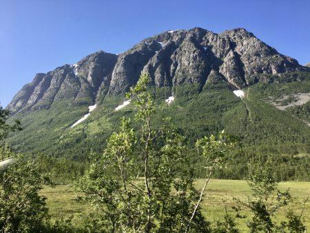 Kvaloya mountains, North Norway