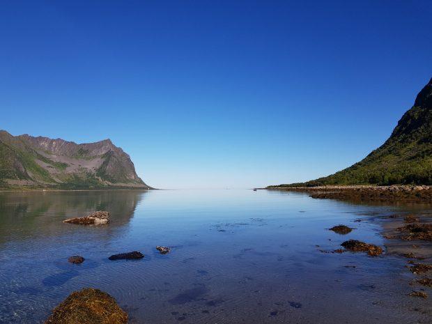 Norway by motorhome: Arctic Sea at Senja