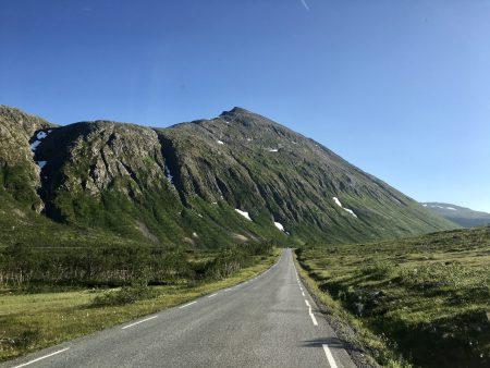 Norway by motorhome: Kvaloya, Tromso
