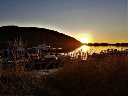 Norway by motorhome: Sommaroy midnight sun