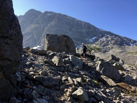 Norway by motorhome: taking the Blue Lake Hike