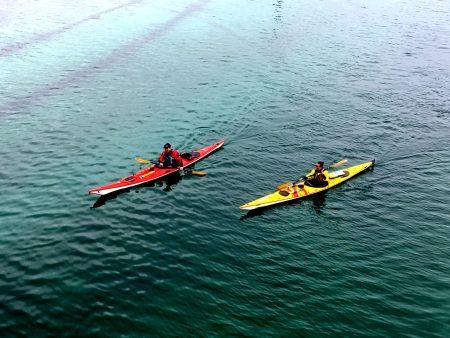 Sommaroy kayaking, Norway