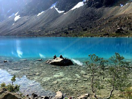 The Blue Lake, Lyngen Alps