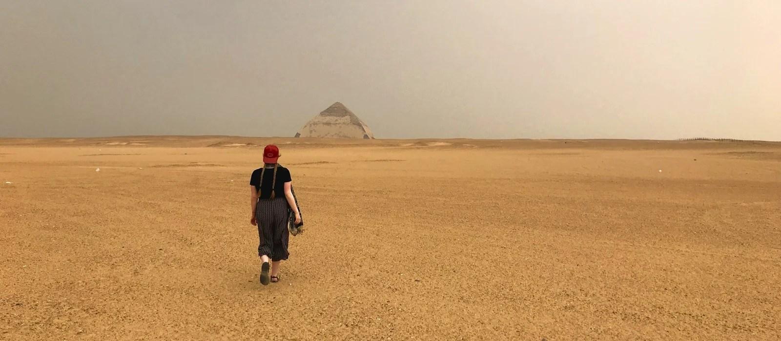 Pyramides de Dashour, Égypte - Les Routes du Monde
