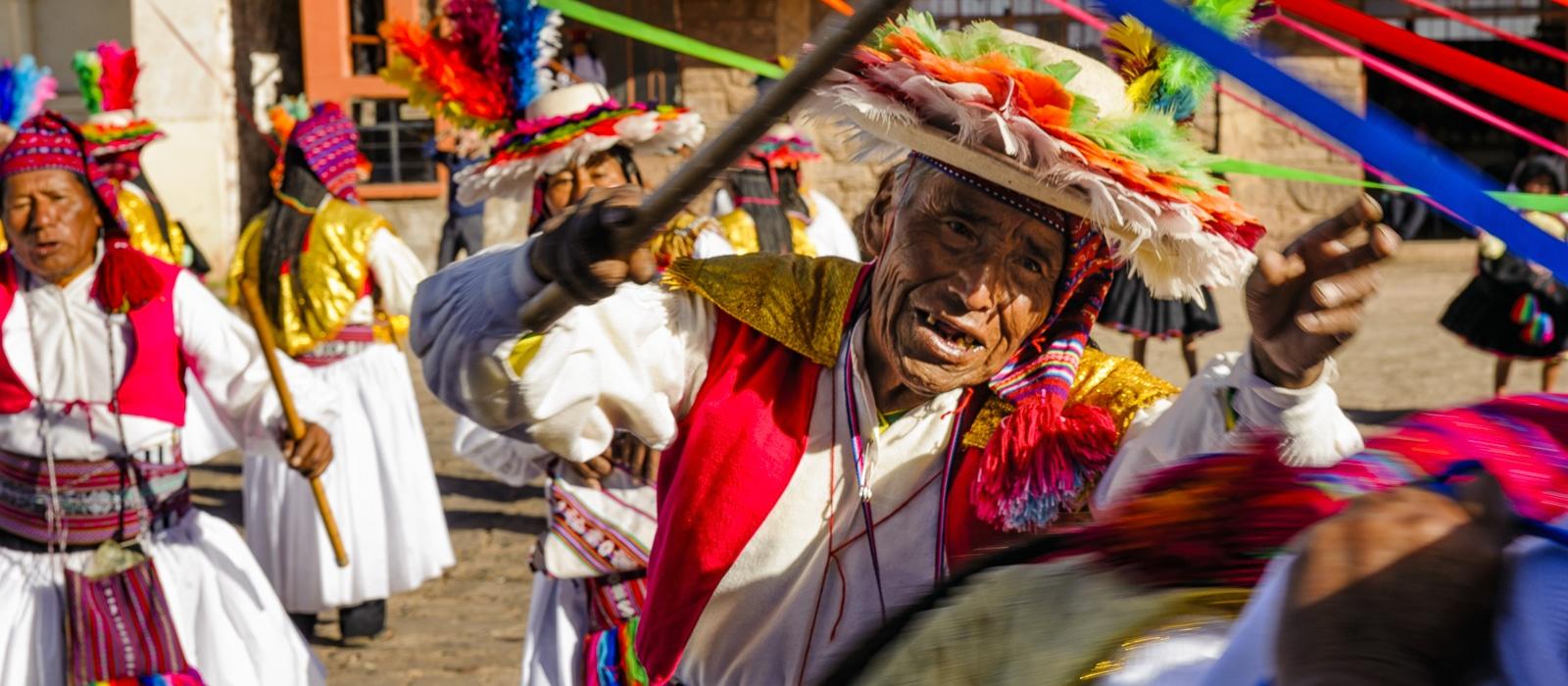 Taquile, lac titicaca, Pérou - Voyage organisé en petit groupe offert par l'agence de voyage Les routes du Monde