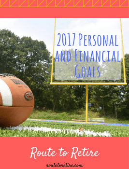 2017 Personal and Financial Goals