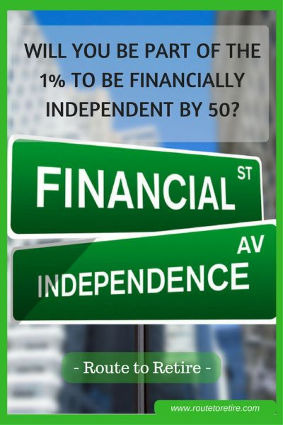 Will You Be Part of the 1% to Be Financially Independent by 50?