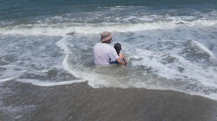 Panama Vacation - Part 1 - Nueva Gorgona and Anton Valley - Dad and daughter