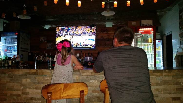 Panama Vacation - Part 1 - Nueva Gorgona and Anton Valley - Cavs game
