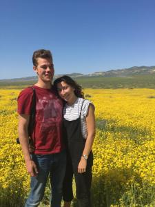 Jacob and Lousie at Carrizo Plain National Monument