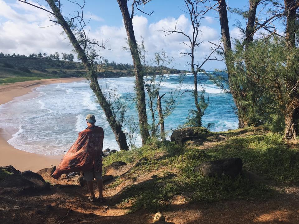 Exploring Kauai beaches