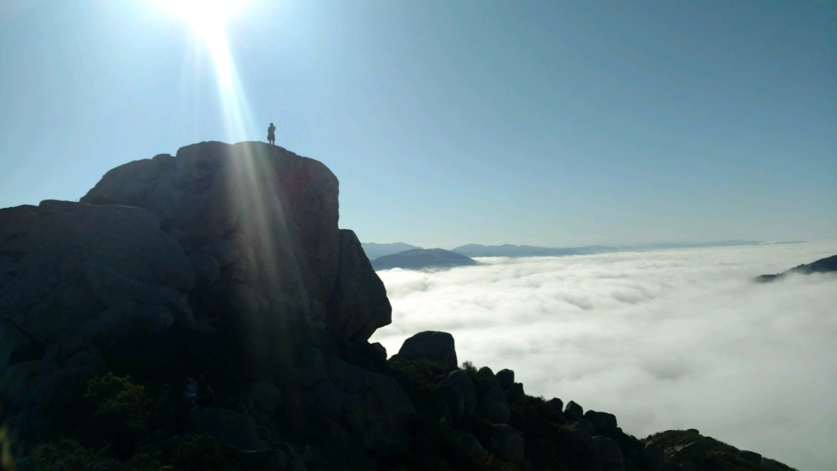 Sunrise at Bishops Peak