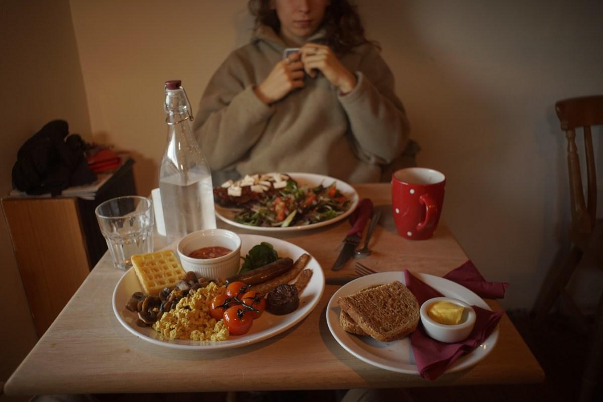 Vegan Food, Keswick, Cumbria.