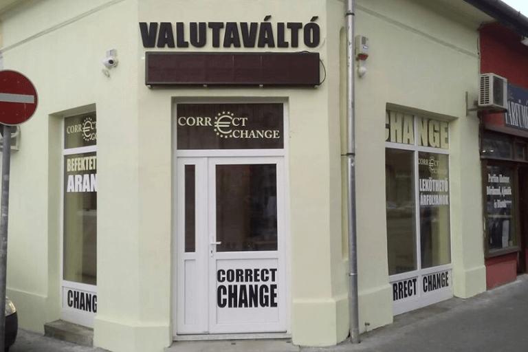 Correct Change Budapest
