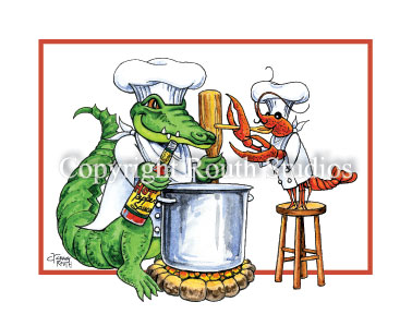 One Chef Sous Chef Note Cards Routh Studios LLC