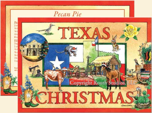 Texas Christmas Texas Christmas Cards CTX11E Routh