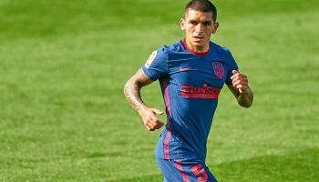 lucas-torreira playing at atletico madrid on loan from arsenal