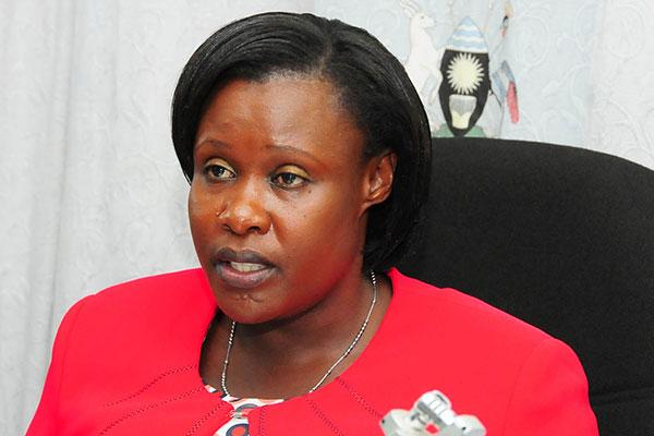 New Vice President: Retired Major Jessica Alupo