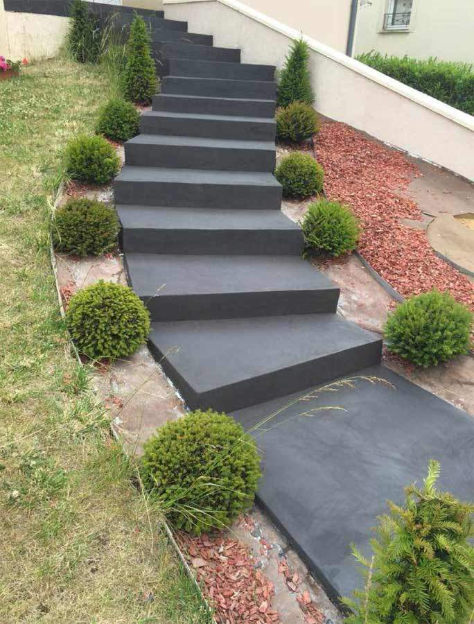 Sublimez Vos Escaliers Exterieurs Avec Le Beton Cire