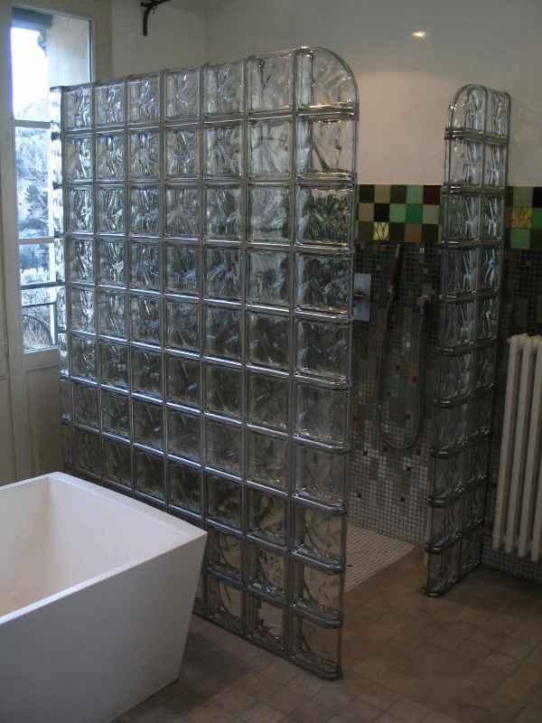 briques de verre metallisees rouviere