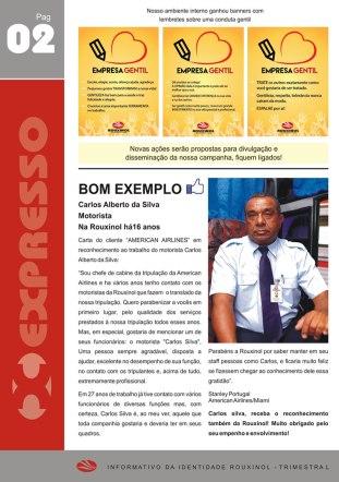 """Informativo """"Expresso Rouxinol"""" - Nº 14, pág 02"""