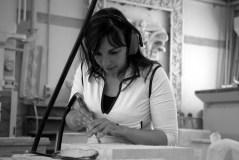 L'artista rovatese Angela Corti