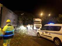 Protezione Civile in azione a Rovato, foto da pagina Facebook Comune