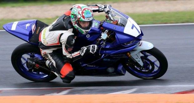 Manuel Rocca in gara
