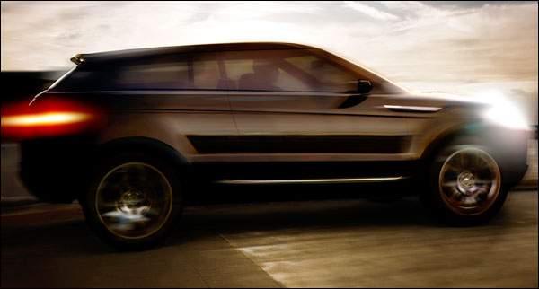 Land Rover Concept Teaser - Frankfurt 2007