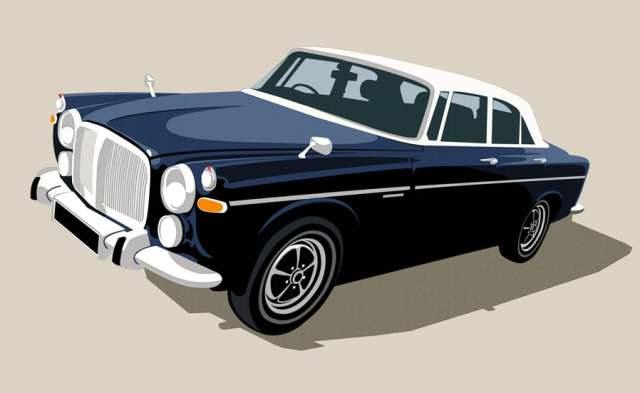 Paul Flanders - Tragus - Rover P5B Coupe
