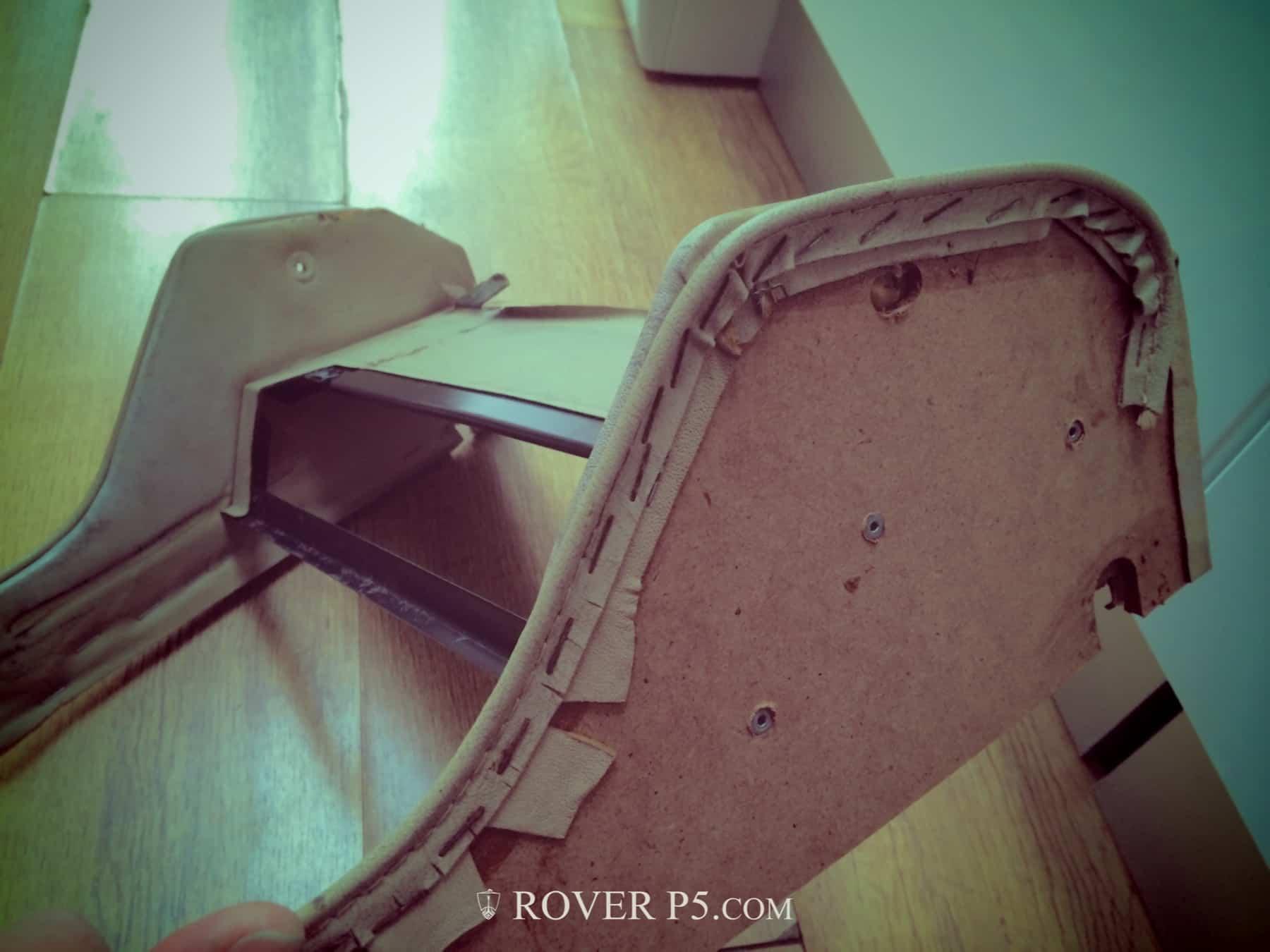 Renovating a Rover P5B Centre Console