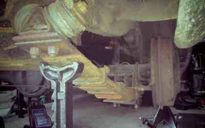 Refurbishing Rover P5 and P5B Rear Leaf Springs