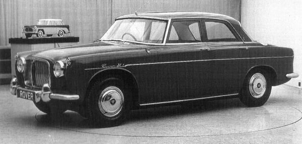 Rover P5 and P5B Development: Rover P5 Prototype April 1957